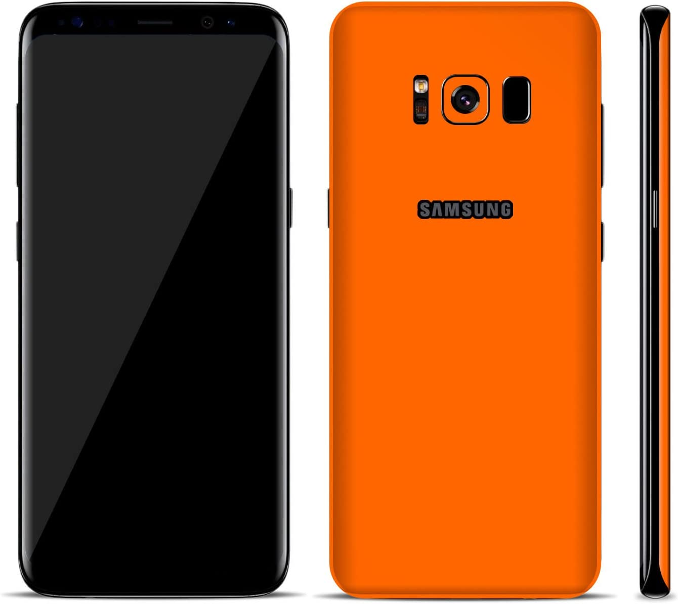 S8, Brushed Aluminium SmartSkins Textured Skin Sticker for SAMSUNG GALAXY S8 /& S8 Plus