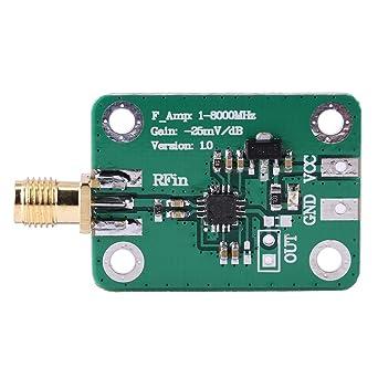 AD8318 RF Logarithmic Detector RSSI Measurement Power Meter 1-8000MHz 70dB