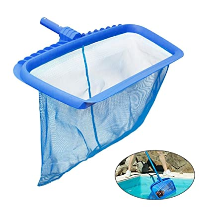 AOLVO Pool Cleaning Net,Swimming Pool Leaf Skimmer Net Professional Deep  Bag Leaf Rake Mesh Frame Net Cleaner Swimming Pool Spa Tool, Above-Ground  ...