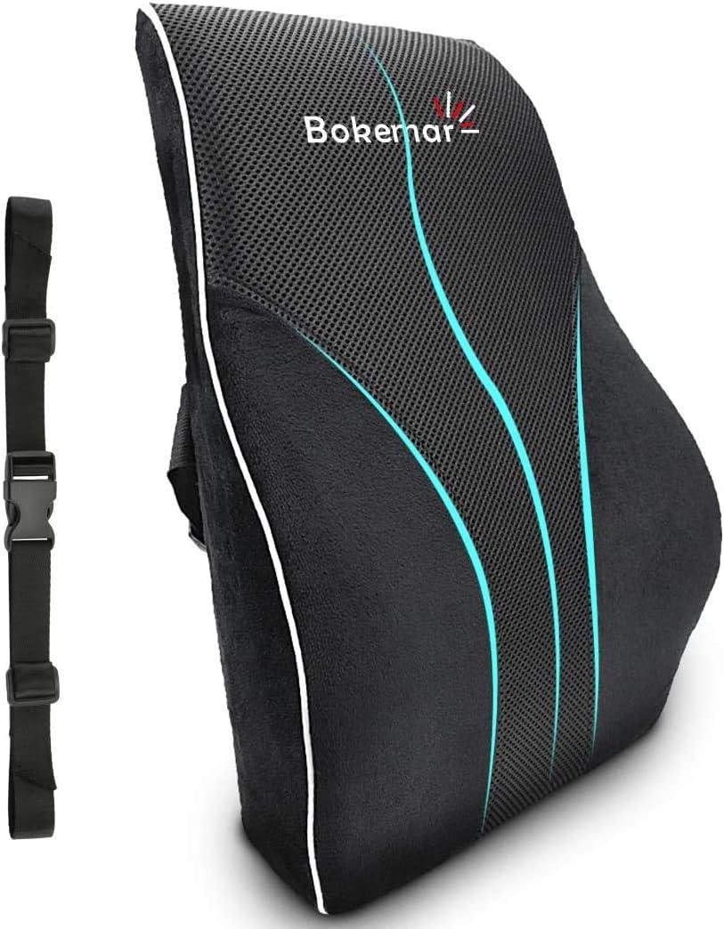 Lumbar Chair Pillow Black Buenos New Chess