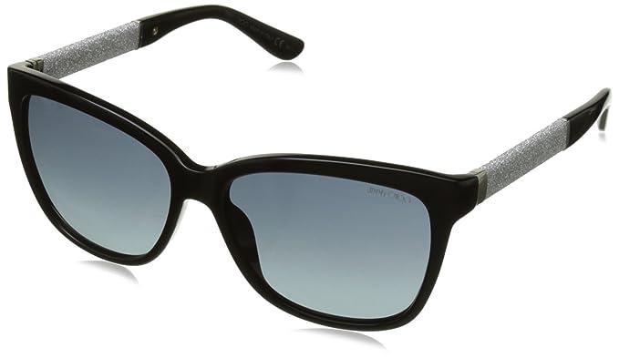 38e818f6c79 Jimmy Choo Sunglasses Cora S Hd Bk Glitterbk