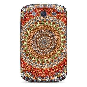 IanJoeyPatricia Samsung Galaxy S3 Shock-Absorbing Hard Cell-phone Cases Customized High-definition Grateful Dead Image [JMJ9297Kylj]