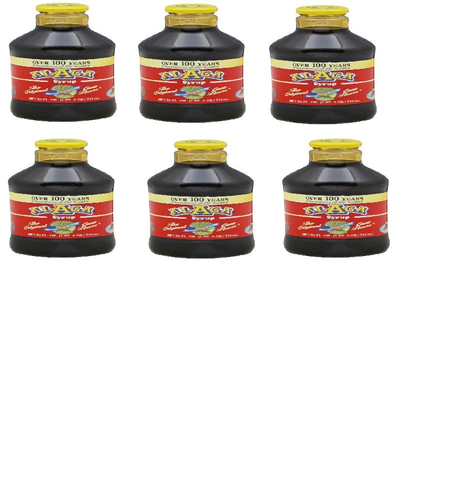 Alaga Original Cane Syrup, 24oz (Case of 6)