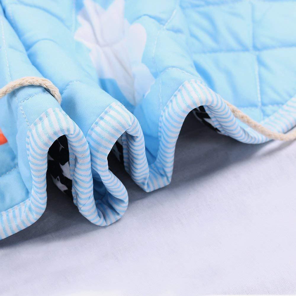 gro/ße Baumwolle Anti Rutsch Cartoon Tier Kinder Stock Spiel Mat mit Kordelzug f/ür Kinderzimmer Giraffe 150cm Kinder Aufr/äumsack Spielmatte Spielzeugteppich