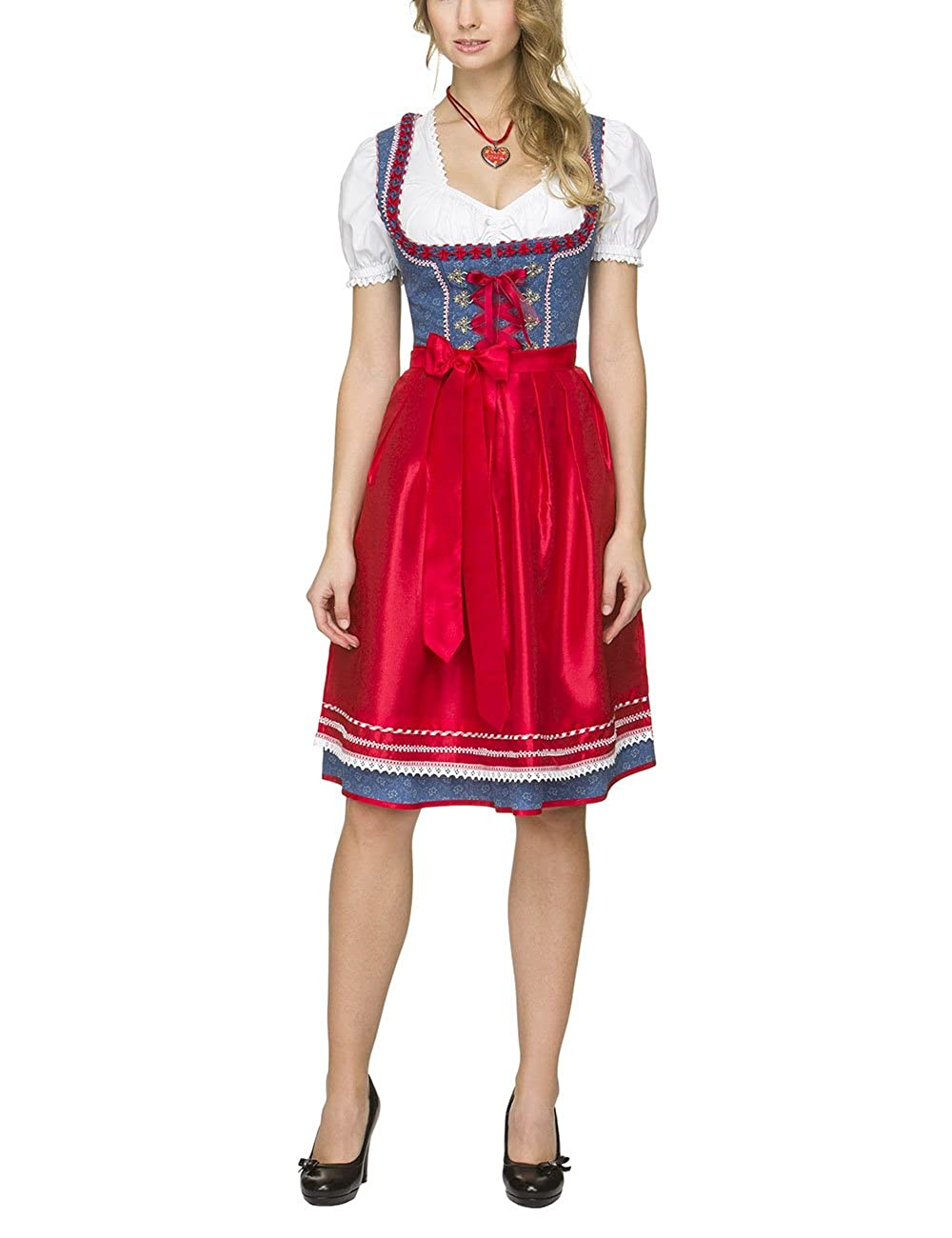 Stockerpoint Damen Dirndl Ricarda Blau (Blue) 36 Original Stockerpoint GmbH B01CCHP2LUBlau (Blue)36