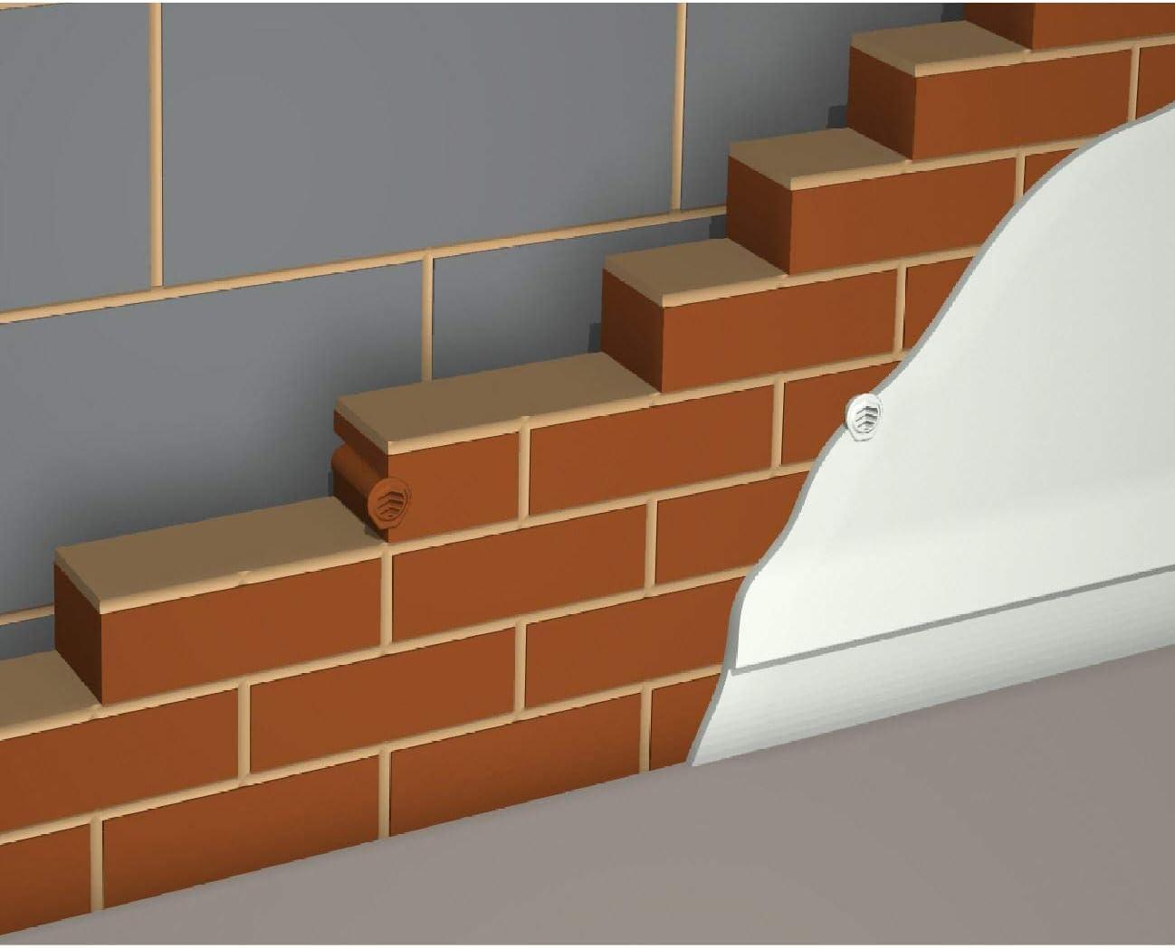 5 x en terre cuite perceuse pleurer /évents autour de cavit/é de syst/ème de ventilation//conservant mur murs