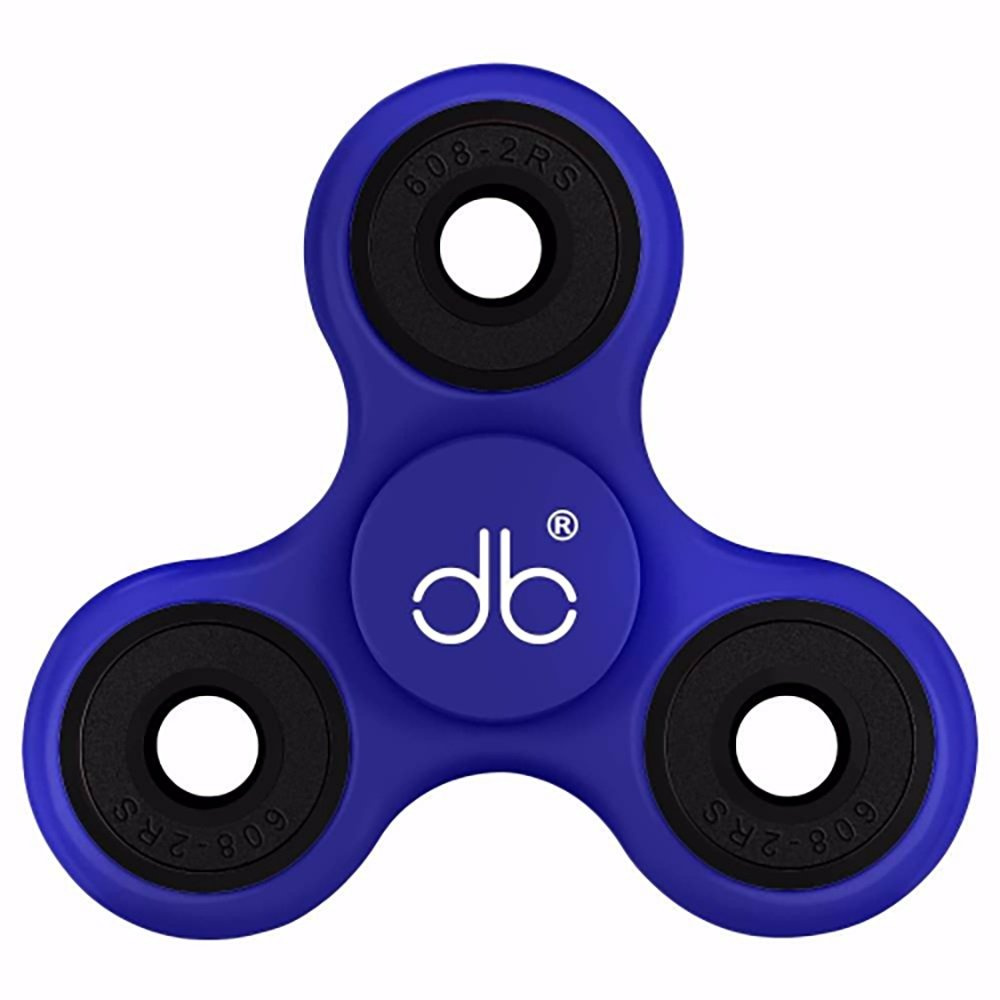 DrowseBuster Anti-Anxiety Fidget Spinner Toy For Kids & Adults - Sensory Anxiety Reducing Fiddling Toy With Si3N4 Ceramic Bearing - For ADHD, Autism, ADD, Nail Biting & Attention Disorders
