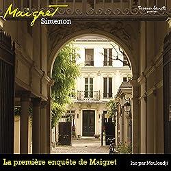 La première enquête de Maigret (Commissaire Maigret)
