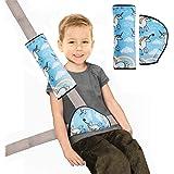Verdickung Kinder Auto Harness Straps Abdeckung Safe Fit Kind Sicherheitsgurt Protector Pad DORSION 3 st/ücke Kindersitz Gurteinsteller,Kinder Auto Sicherheitsgurte