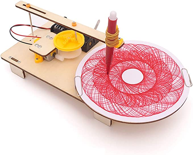 BIUYYY Bricolaje Plotter automatico Juguetes educativos educativos científicos Hechos a Mano Divertidos: Amazon.es: Deportes y aire libre