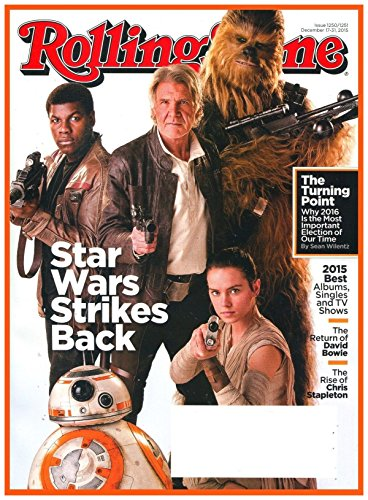 Rolling Stone Magazine (December 17-31, 2015) Star Wars Cover