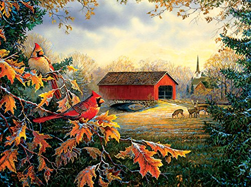 River Crossing Puzzle Game - SunsOut Red River Crossing 1000 Piece Jigsaw Puzzle