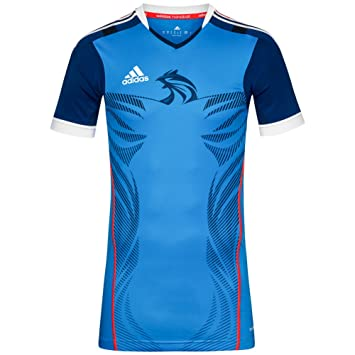 663445846195 HB FK TECHFIT M BLE - Maillot Handball France Homme Adidas  Amazon ...