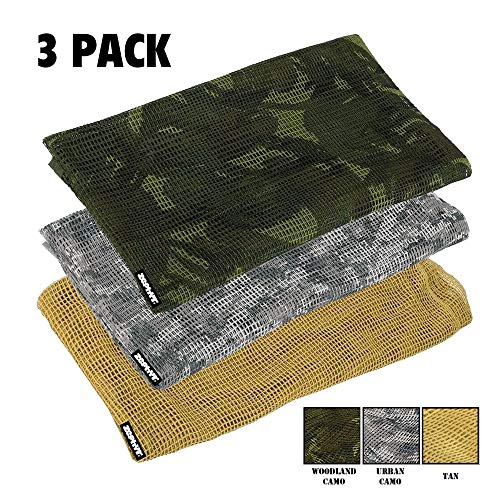 Zephyr Tactical 3 Pack - Urban, Woodland Camo, Desert Tan