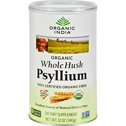 Organic India Org Fiber Harmony Whole Husk 340g