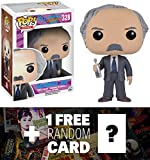 Grandpa Joe: Funko POP! x Willy Wonka & The Chocolate Factory Vinyl Figure + 1 FREE Classic Movie Trading Card Bundle (102469)