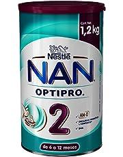 Nestle Nan Fórmula Infantil 2 Optipro, 1.2kg, Pack of 1