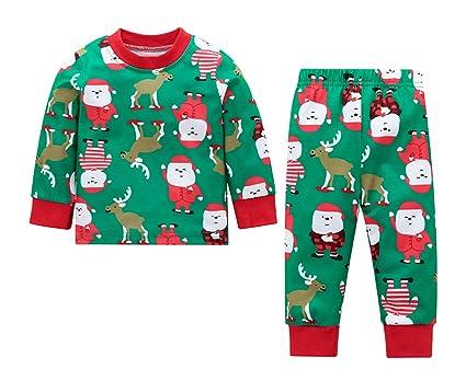 a6092d245 Amazon.com  SWNONE Christmas Cloths Baby Boys Christmas Shirt Top ...