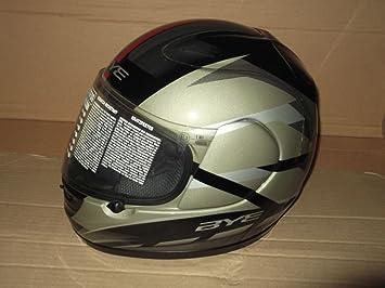 Casco Integral Moto Original Yamaha Bye R6 Negro/Rojo Designe Suomy Talla L