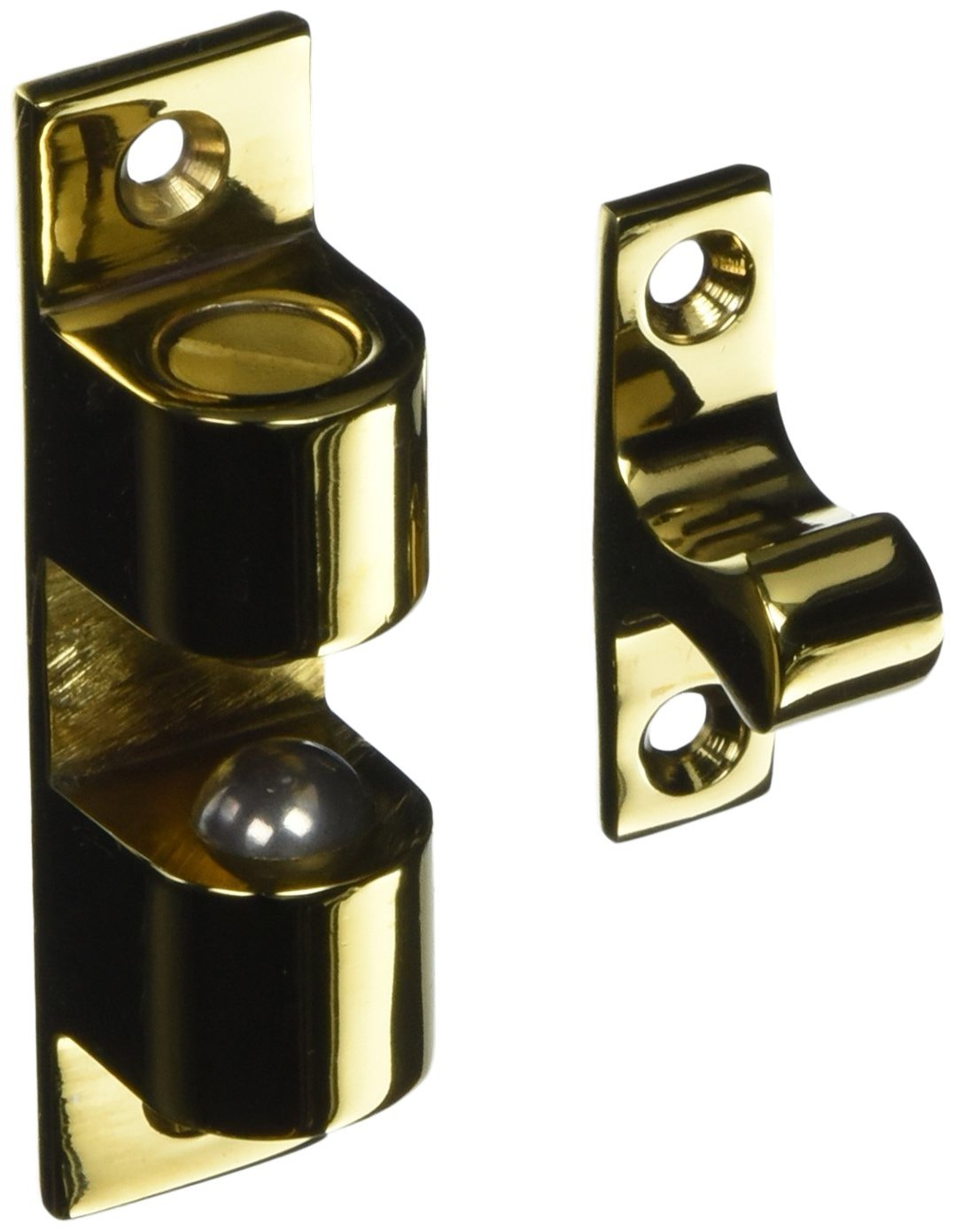 Deltana BTC30CR003 Solid Brass 3-Inch x 0.75-Inch Ball Tension Catch