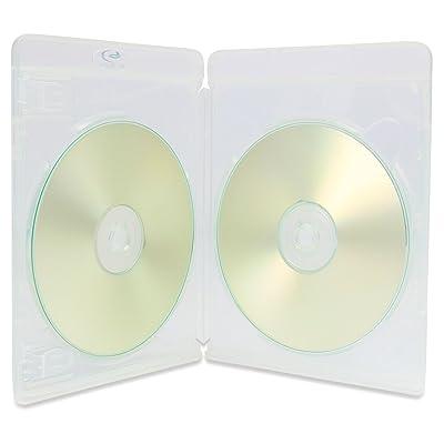 25x Amaray Vortex ECO-Lite doble 3d claro imbatible (2discos Blu-ray casos