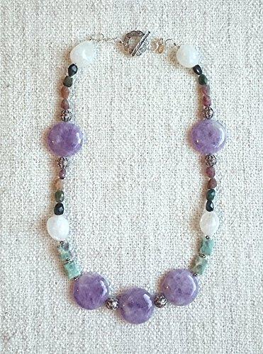 Quartz Ruby Necklace - 7