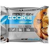 Forzagen Vegan Protein Cookie Pack con 12 Sobres de Galleta de 70 g cada una| Galleta de Proteina Vegana | 10 g de…