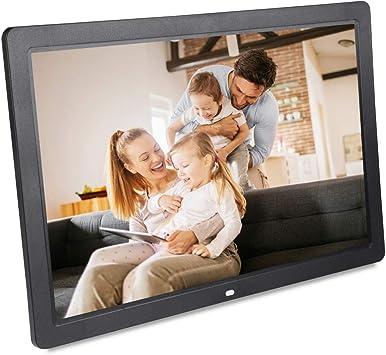 17/'/' TN Screen Digital Photo Movies Frame MP3 MP4 Player Alarm Remote Control
