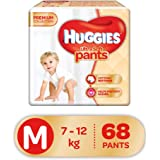 Huggies Ultra Soft Pants Diapers, Medium (Pack of 68)