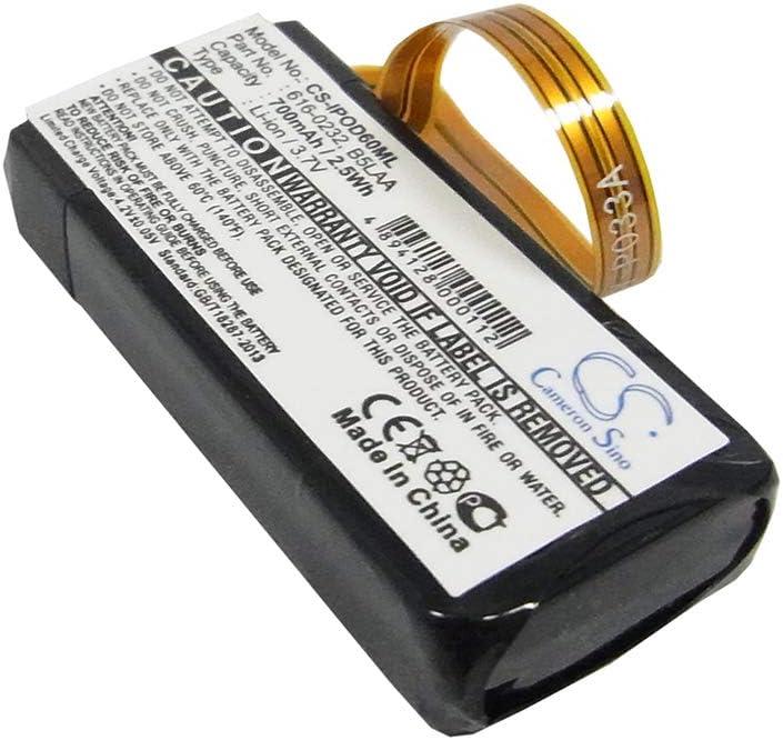 Bateria 616-0232 para iPO Video 60G 80G Classic 120GB