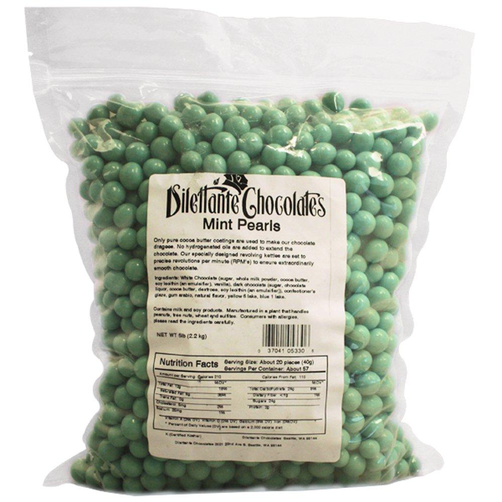 Mint Dropz in Premium Chocolate - 5lb Bulk Bag - by Dilettante
