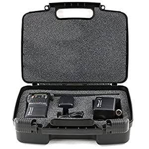 Life Made Better Storage Organizer - Compatible with Midland CB-Way Radio - Durable Carrying Case - Black