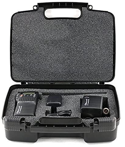 Hard Storage Carrying Case For Midland CB-Way Radio - Stores Midland 75-822 40 Channel CB-Way Radio TM And Accessories, Safely - Black