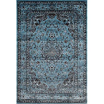 Amazon Com Premium Soft Rugs Luxury Contemporary Rug Dark