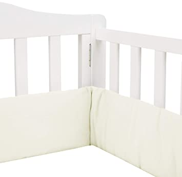Babydoll Tailored Baby Cradle Bumpers White 18 x 36