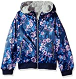 Jessica Simpson Little Girls' Midweight Cozy Bomber Jacket, True Navy, 5/6