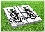 Deer Hunters Cornhole Boards Beanbag Toss Game W Bags Set 462