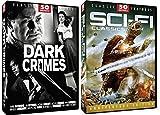 50 Sci-Fi Classic Movies & Dark Crimes 50 Film Noir 24-DVD Bundle The Limping Man, Gamera The Invincible, The Strange Woman, Kong Island