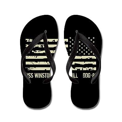 Winston Churchill - Flip Flops Funny Thong Sandals Beach Sandals