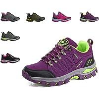 LSGEGO Unisexe Chaussures de randonnée en Plein air Bottes de randonnée Voyages décontractés Marche Bottes d'escalade Unisexe Respirant étanche Couples Chaussures