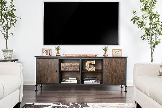 Muebles de América - Soporte para televisor (Roble Envejecido ...