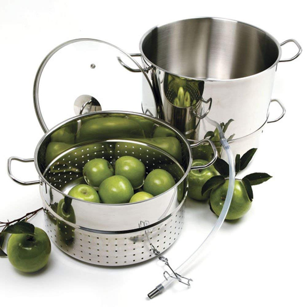 Norpro Stainless Steamer/Juicer Bundle with Norpro 6pc Canning Essentials - Stainless Steel by Norpro (Image #3)