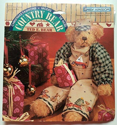 Daisy Kingdom Country Bear Ted E. Bear Easy Sew Pre-printed Panel (Daisy Kingdom Doll)