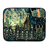 The Skully Mambo Briefcase Handbag Case Cover For 13-15 Inch Laptop, Notebook, MacBook Air/Pro