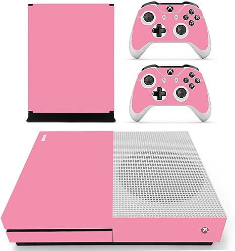 dotbuy Xbox One S adhesivo consola Decal Vinyl Skin Sticker + mando 2 adhesivo + 1 – Kinect adhesivo Set rosa All Pink: Amazon.es: Informática