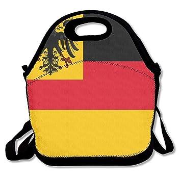 Dozili Bandera alemana grande y gruesa bolsas de almuerzo de ...