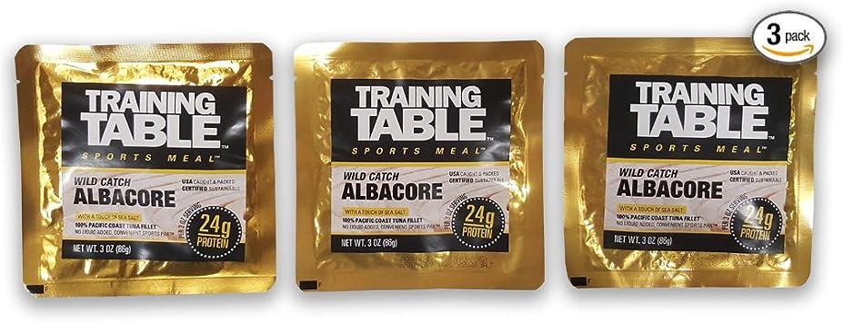 Training Table Sports Meal 100% EE.UU. capturados en la ...