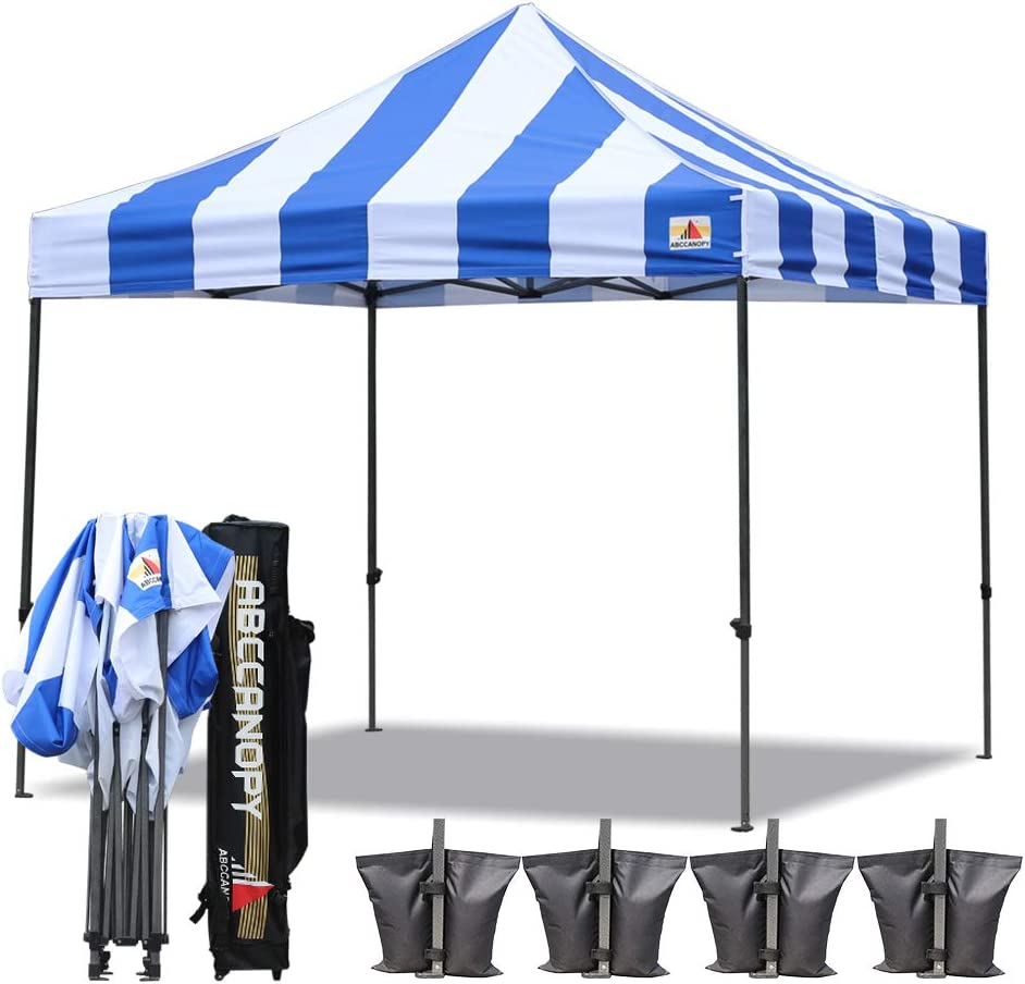 abccanopy Deluxe 10 x 10 Pop Up toldo Tienda de campaña Carnaval expendedoras: Amazon.es: Jardín