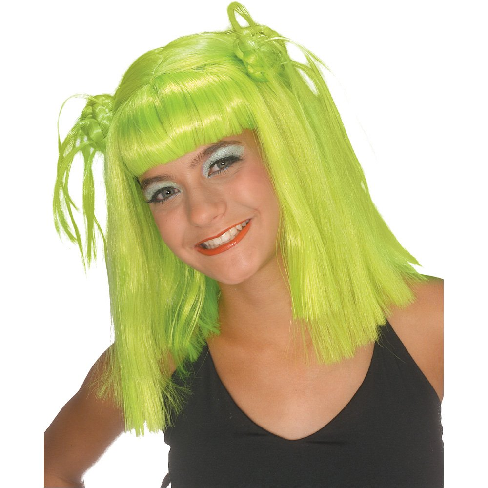 Rubie's Costume Lime Twist Wig, Green, One Size Rubies Costumes - Apparel 50921