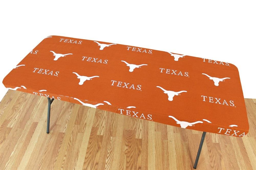 Amazon Com University Of Texas Longhorns Logo Table Cover Fitted